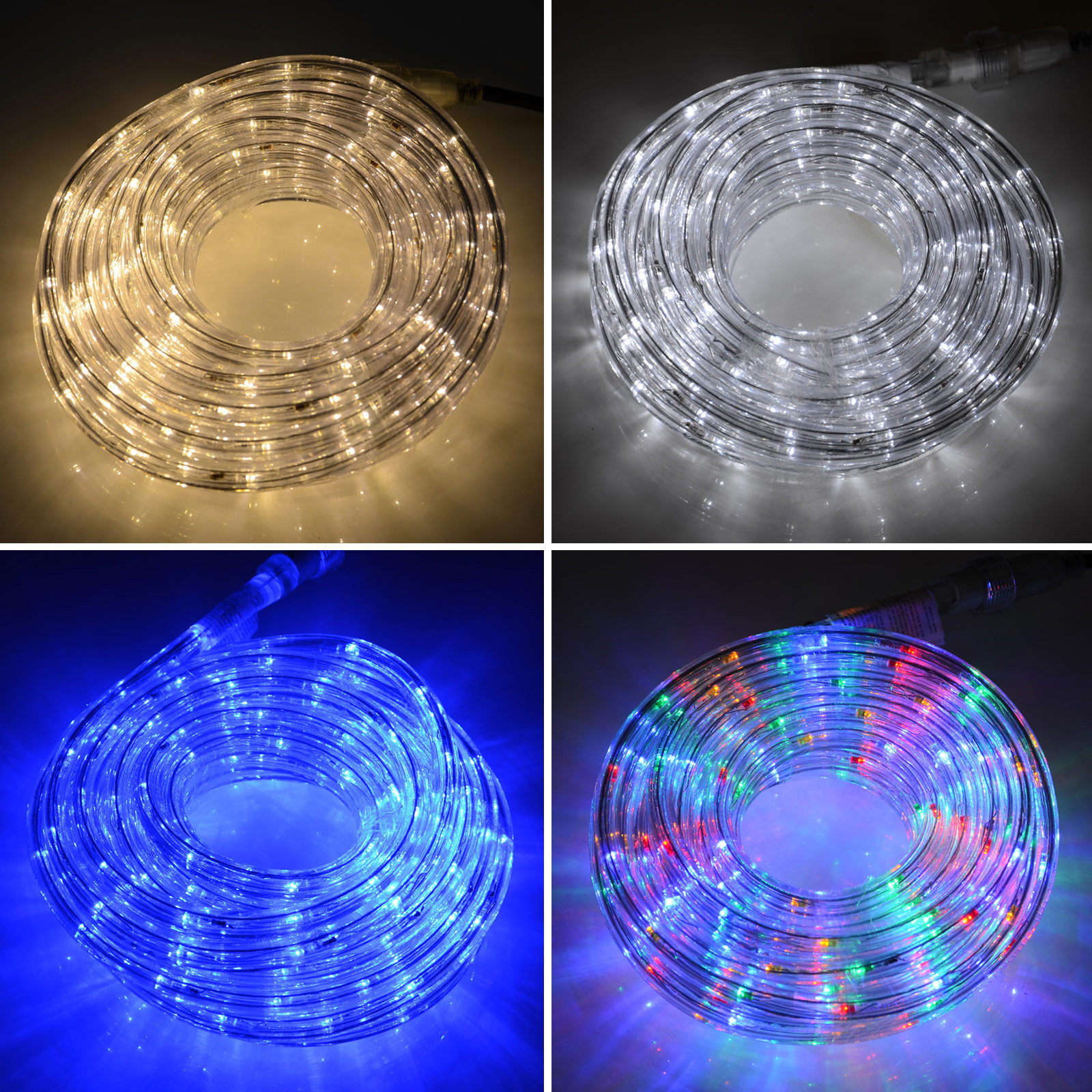 Indoor Outdoor Christmas Light  8m Connectable Indoor Outdoor Christmas Xmas Flexible