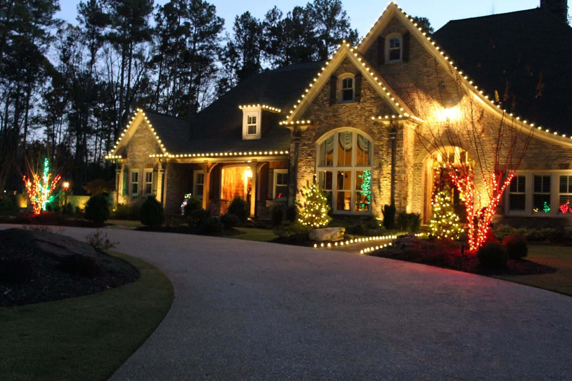 Indoor Outdoor Christmas Light  Outdoor Christmas Light Display Ideas