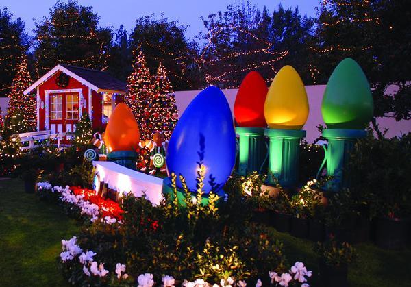 Indoor Outdoor Christmas Light  Giant Fiberglass Christmas Light Bulb mercial