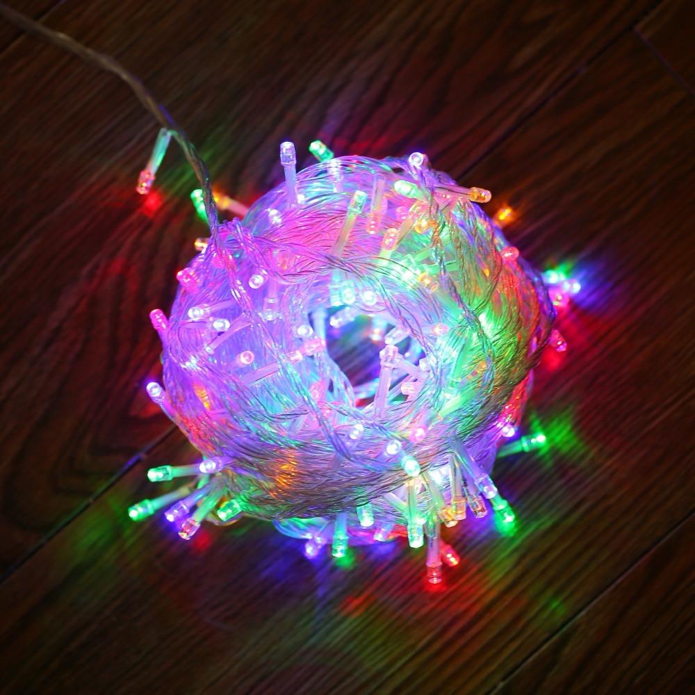 Indoor Outdoor Christmas Light  JUNJUE LED String Light Christmas Lights Indoor Outdoor