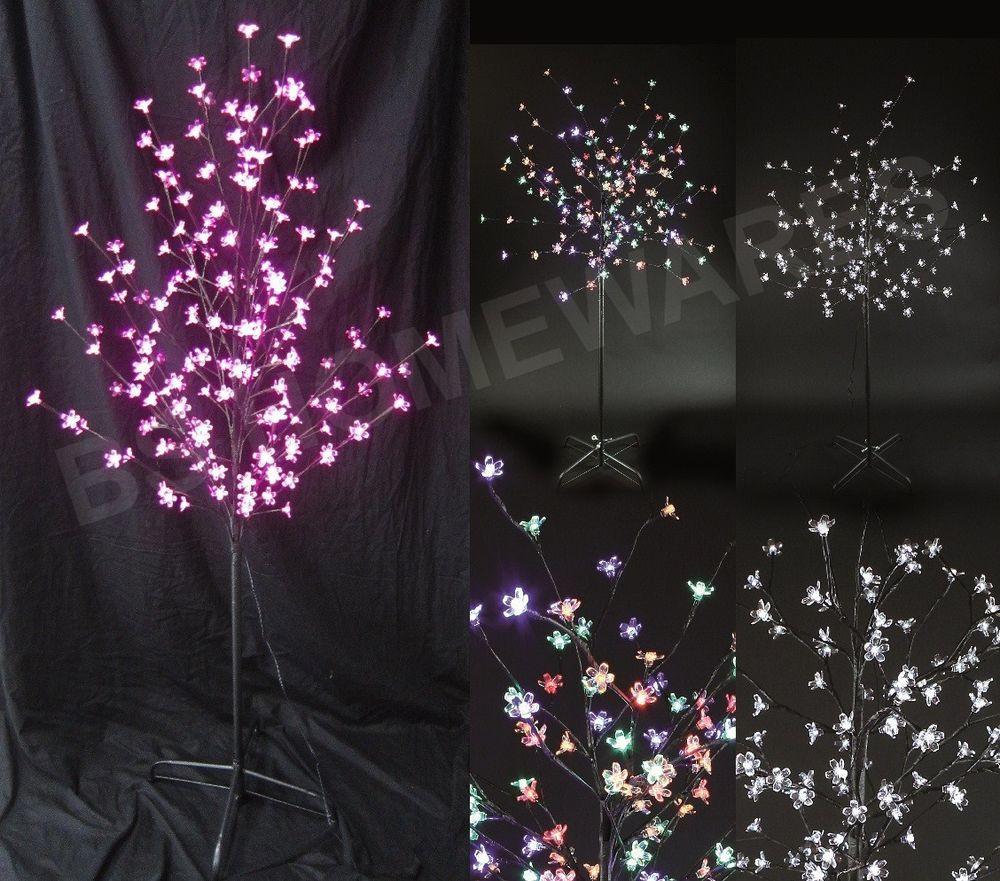 Indoor Outdoor Christmas Light  180 Led Christmas Lights Tree with Flower Head Indoor