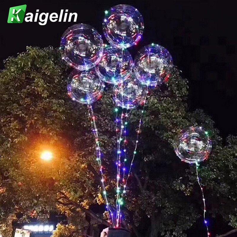 Indoor Outdoor Christmas Light  3M 30 LED Beads Balloon Light Outdoor Christmas Lights