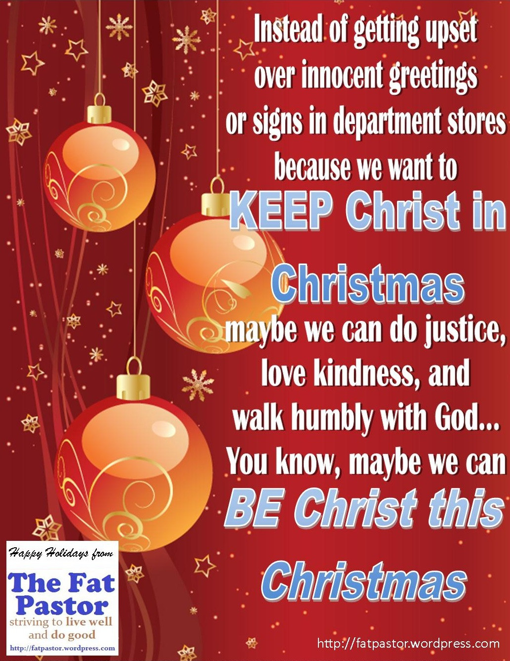 Keep Christ In Christmas Quotes  Christmas Safety Quotes QuotesGram