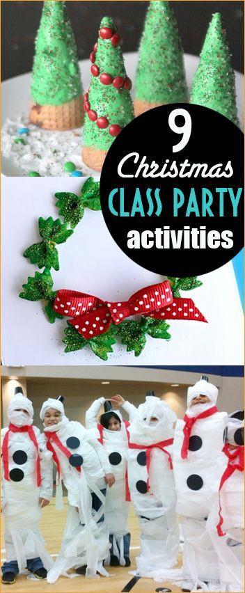 Kindergarten Christmas Party Ideas  Best 25 School christmas party ideas on Pinterest