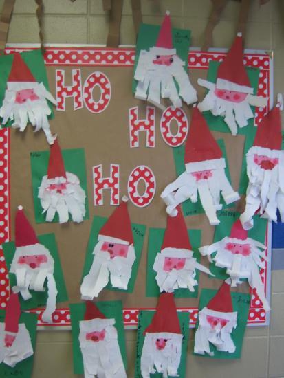 Kindergarten Christmas Party Ideas  First Grade Blue Skies Bulletin Board Linky Party