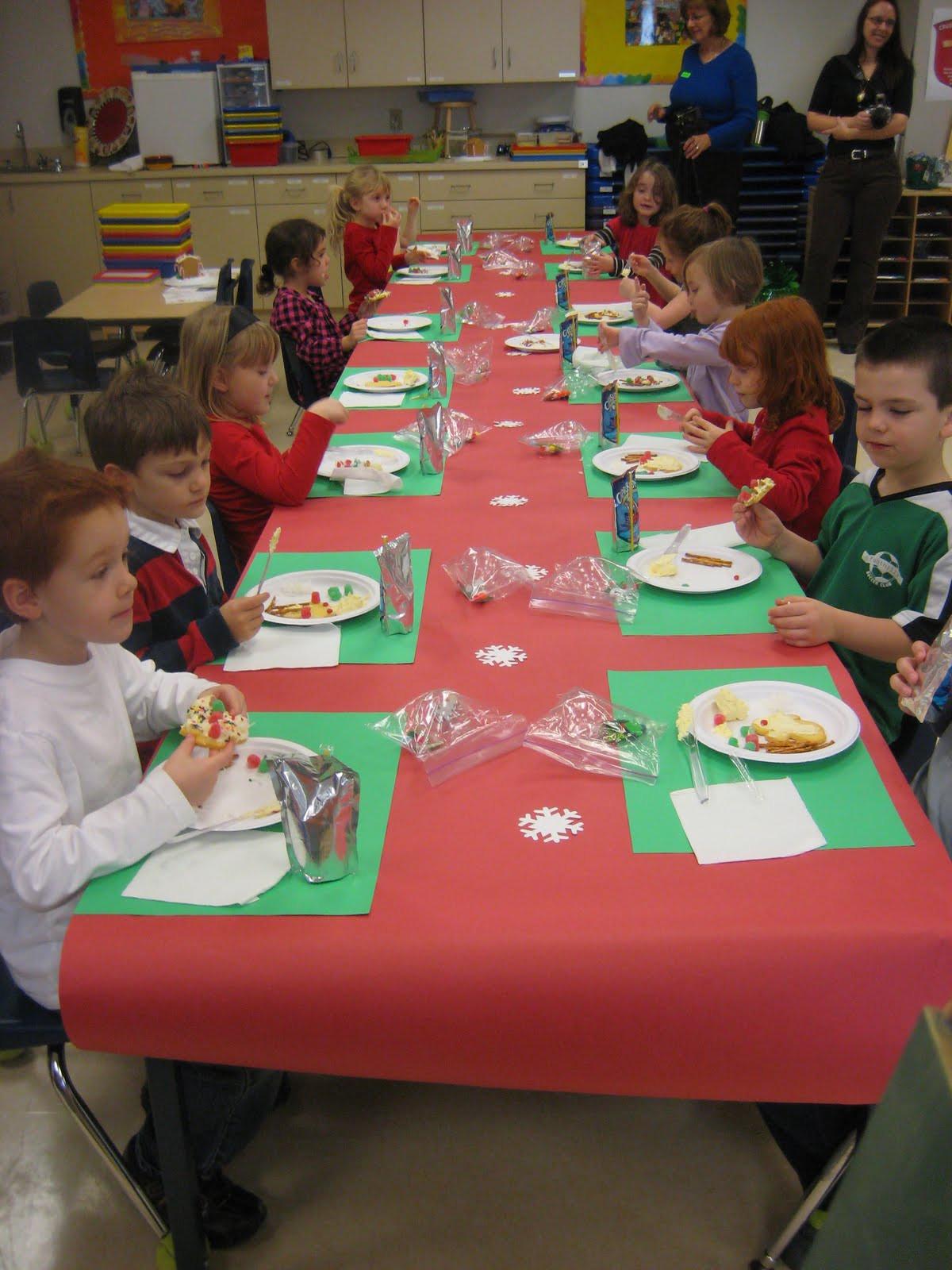 Kindergarten Christmas Party Ideas  Lewis Family Blog Kindergarten Christmas Party