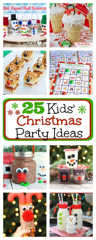 Kindergarten Christmas Party Ideas  1000 Class Party Ideas on Pinterest