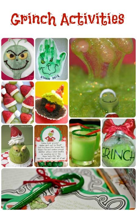Kindergarten Christmas Party Ideas  Grinch Activities