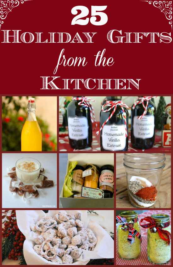 Kitchen Christmas Gifts  25 Holiday Gifts from the KItchen Flour My Face