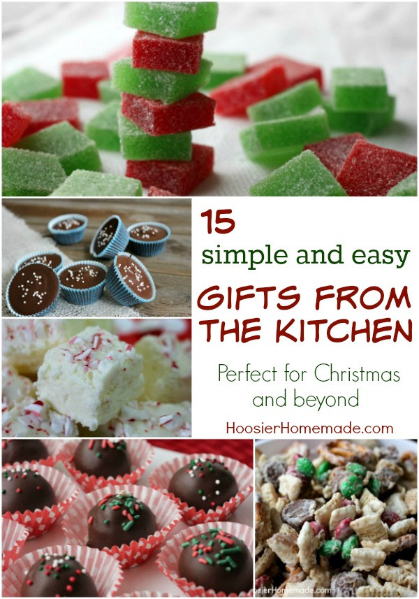 Kitchen Christmas Gifts  Holiday Gift Ideas from Your Kitchen I Heart Planners