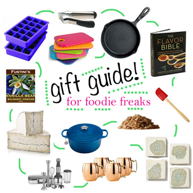 Kitchen Christmas Gifts  2013 Holiday Gift Guide For the Foo Freak and Kitchen