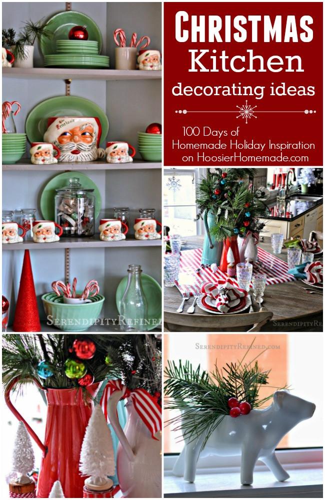 Kitchen Christmas Gifts  Christmas Kitchen Decorating Ideas Holiday Inspiration