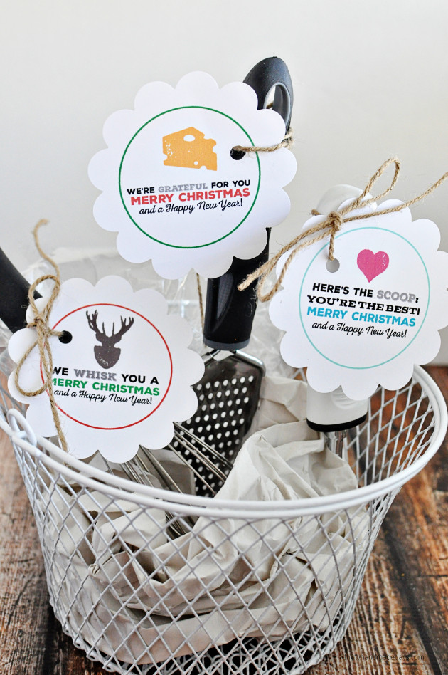 Kitchen Christmas Gifts  Printable Christmas Tags for Kitchen Gifts California
