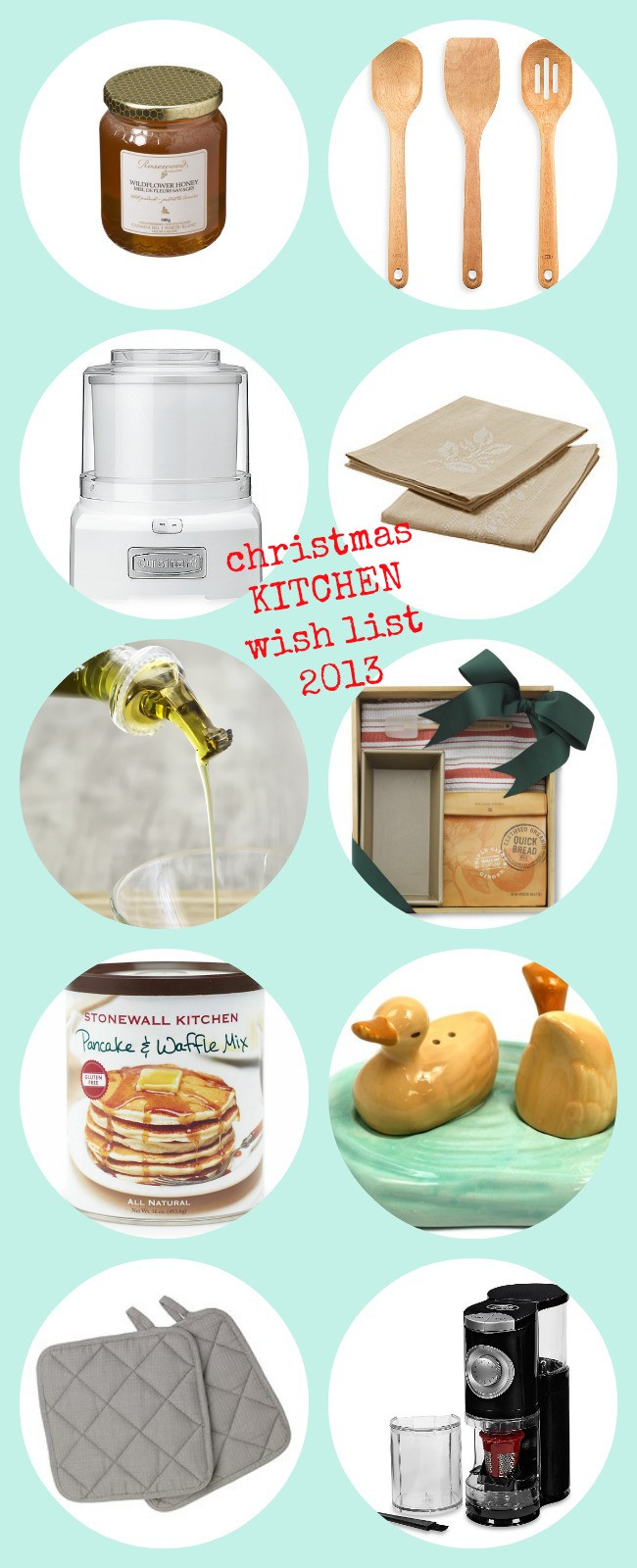 Kitchen Christmas Gifts  10 Great Holiday Gifts for the Kitchen The Best of this Life
