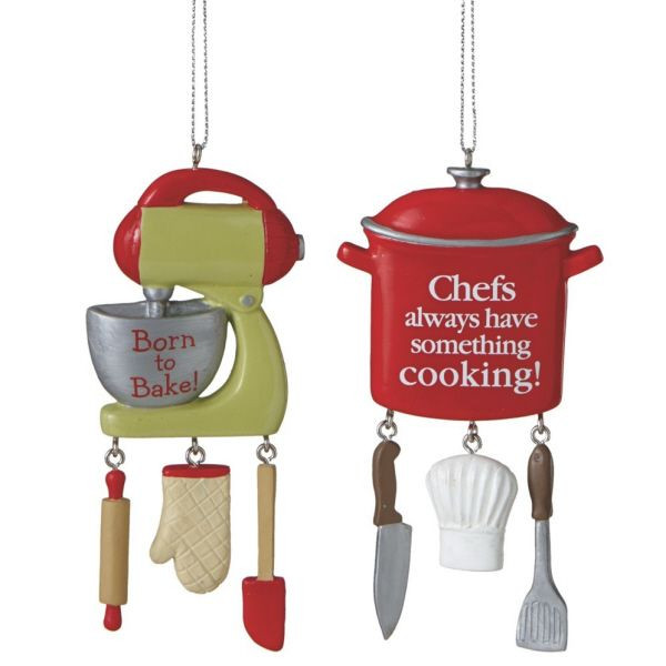 Kitchen Christmas Ornament  36 best Salute The Chef Kitchen Christmas Tree images on