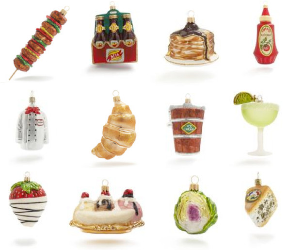 Kitchen Christmas Ornament  a party style kitchen ornaments