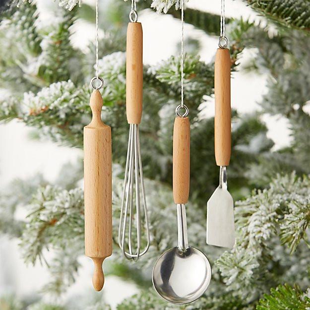 Kitchen Christmas Ornament  Mini Kitchen Tool Ornaments Set of 4 Reviews