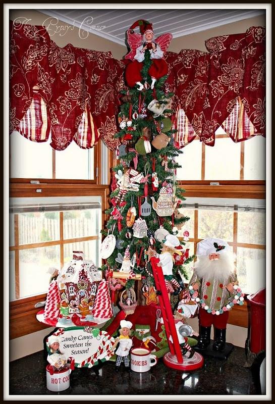 Kitchen Christmas Ornament  19 best images about Christmas valances on Pinterest