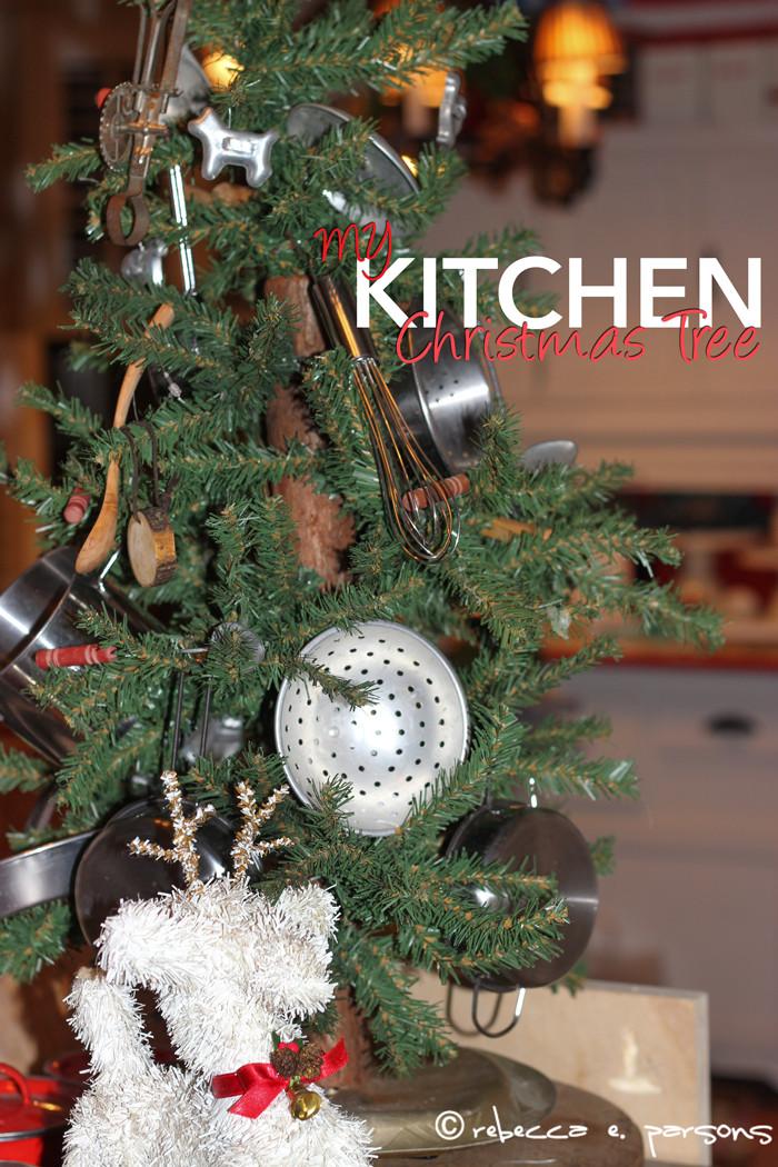Kitchen Christmas Ornament  Kitchen Christmas Tree 2016