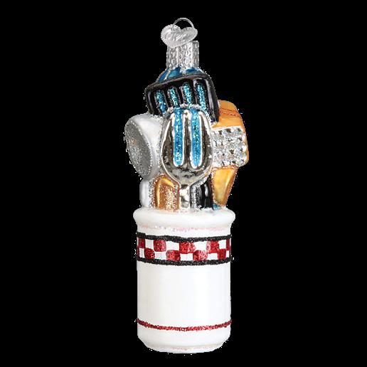 Kitchen Christmas Ornament  Kitchen Utensils Old World Christmas Ornament