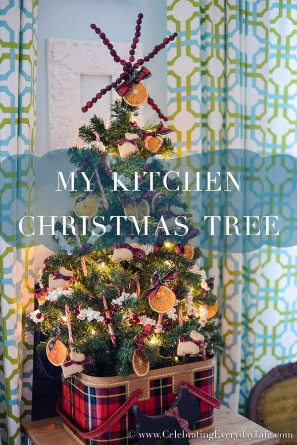 Kitchen Christmas Ornament  My Kitchen Christmas Tree Celebrating everyday life with