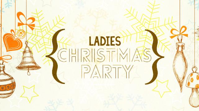 Ladies Christmas Party Ideas  La s Christmas Party