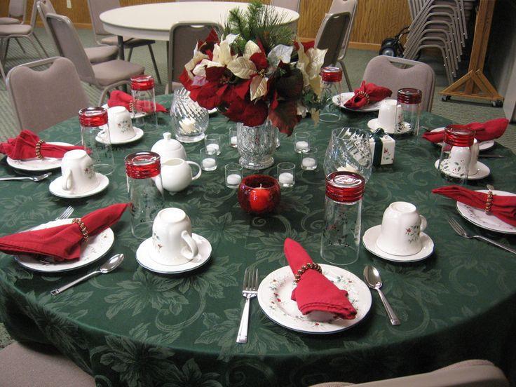 Ladies Christmas Party Ideas  16 best images about La s Christmas Tea Event Ideas on