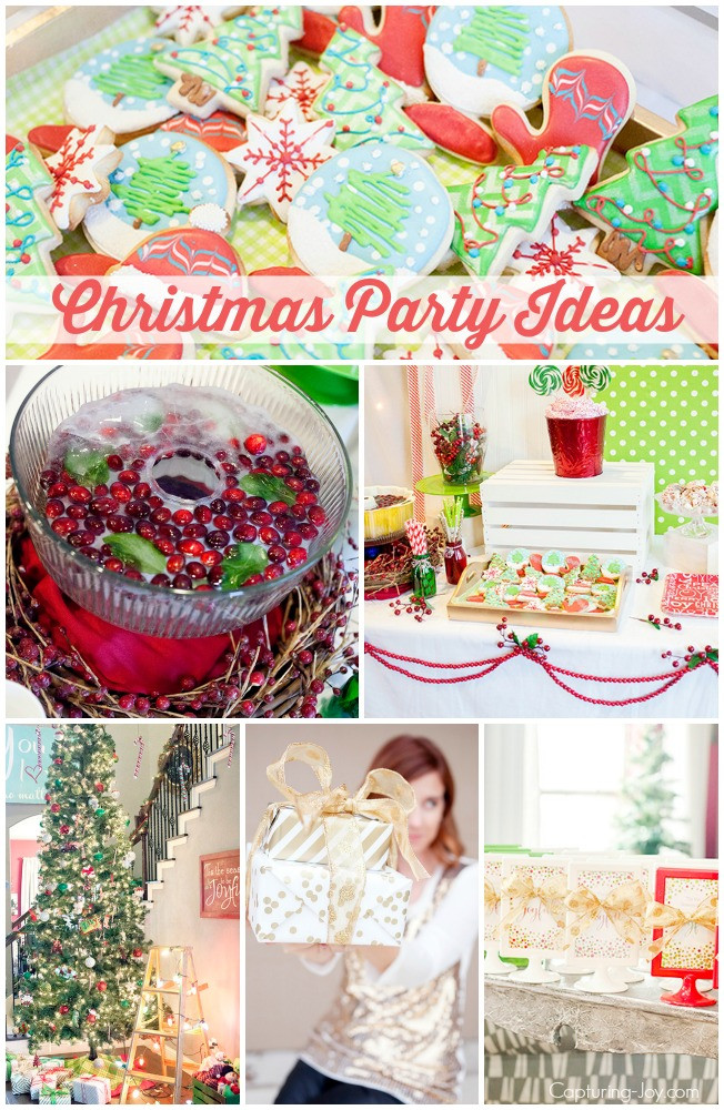 Ladies Christmas Party Ideas  Christmas Party Ideas Capturing Joy with Kristen Duke