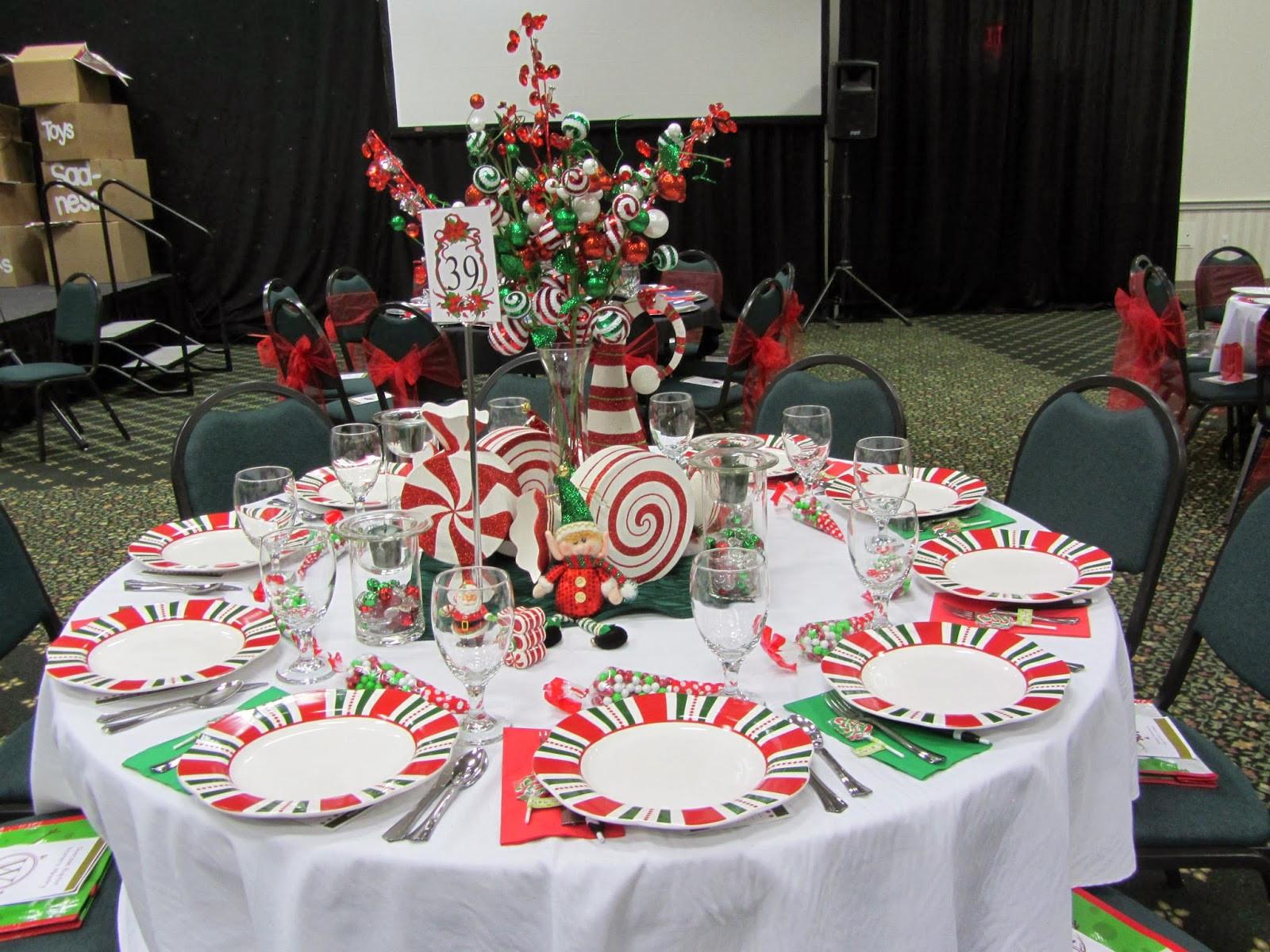 Ladies Christmas Party Ideas  J&K Always La s Christmas Tea 2013 Decorating the Table