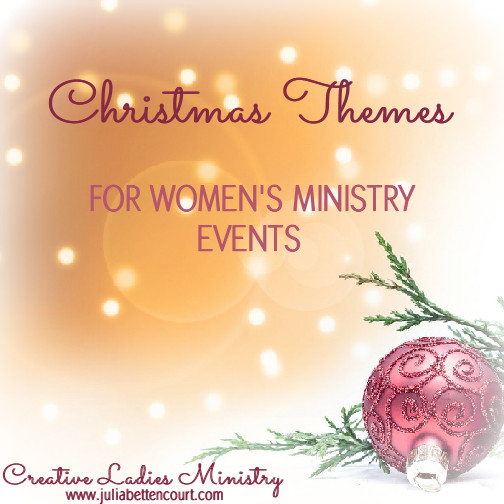 Ladies Christmas Party Ideas  Christmas Theme and Party Ideas for Womens Ministry