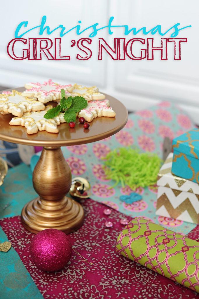 Ladies Christmas Party Ideas  FUN Christmas Themed Girls La s Night Idea