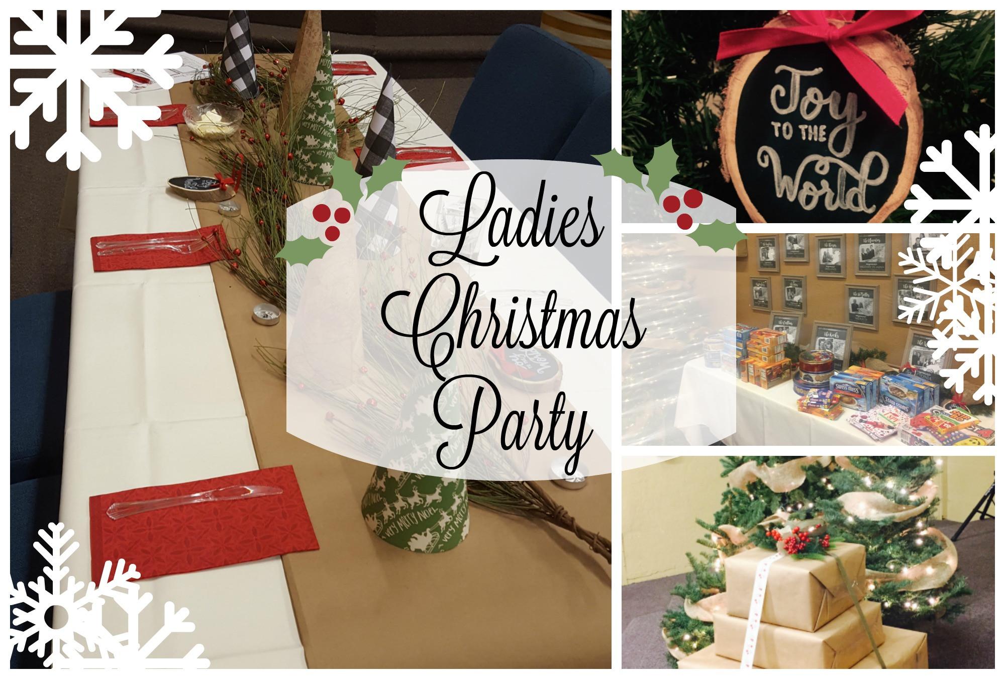 """Ladies Christmas Party Ideas  """"Joy to the World"""" La s Christmas Party mon Mercies"""