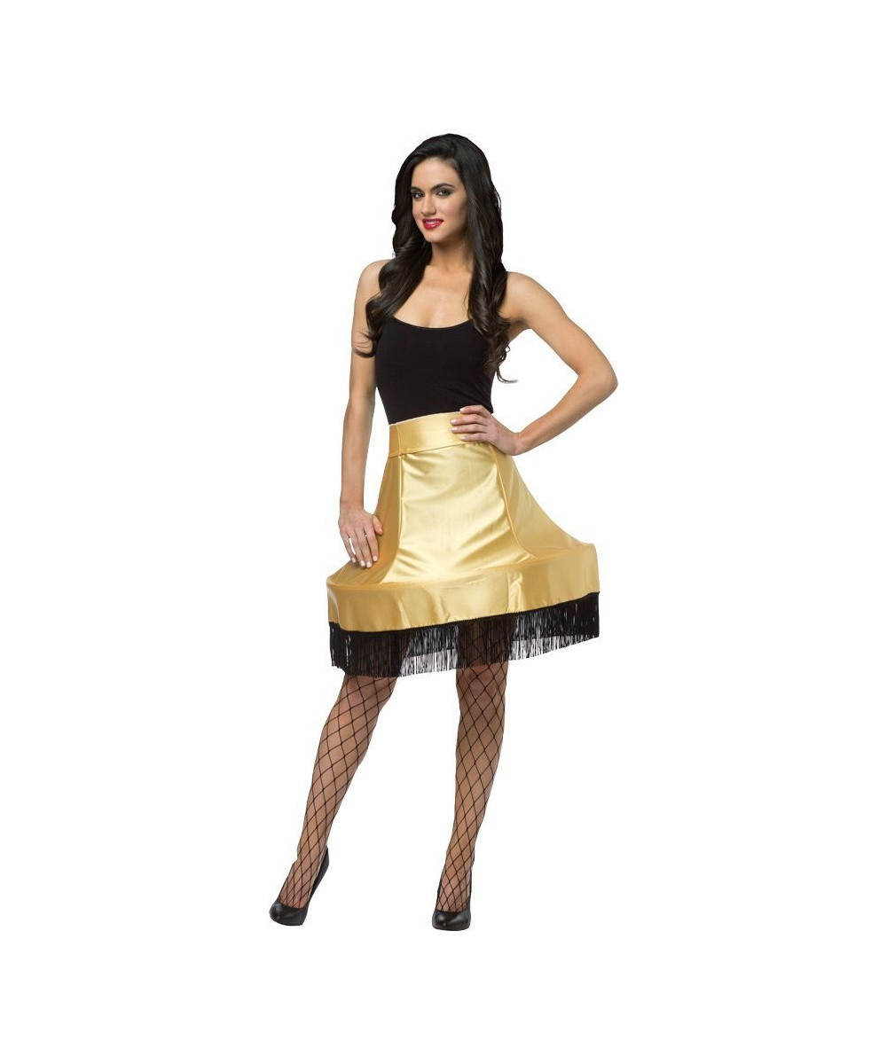 Lamp Halloween Costume  Women s Christmas Story Lamp Skirt Halloween Movie Costume