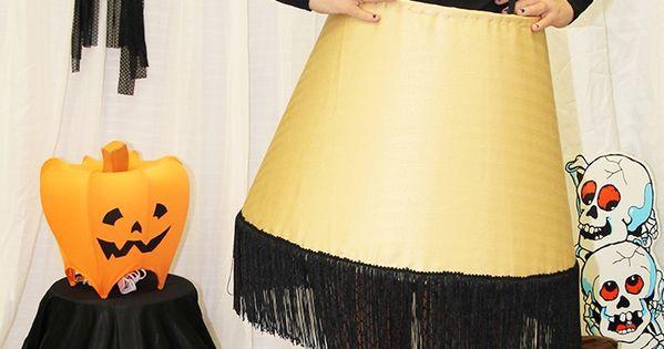 Lamp Shade Halloween Costume  DIY A Christmas Story Leg Lamp costume So easy