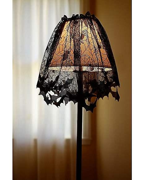 Lamp Shade Halloween Costume  Bat Lamp Shade Cover Spirithalloween