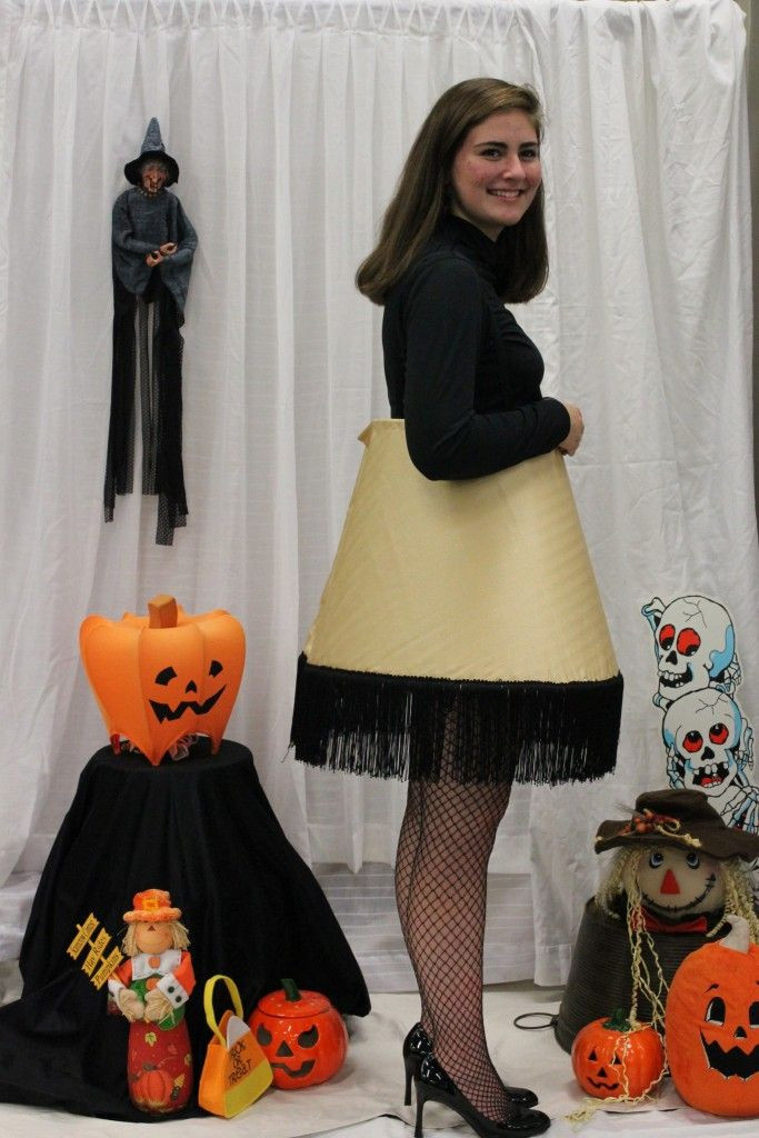Lamp Shade Halloween Costume  17 Best images about Christmas Story 5k on Pinterest