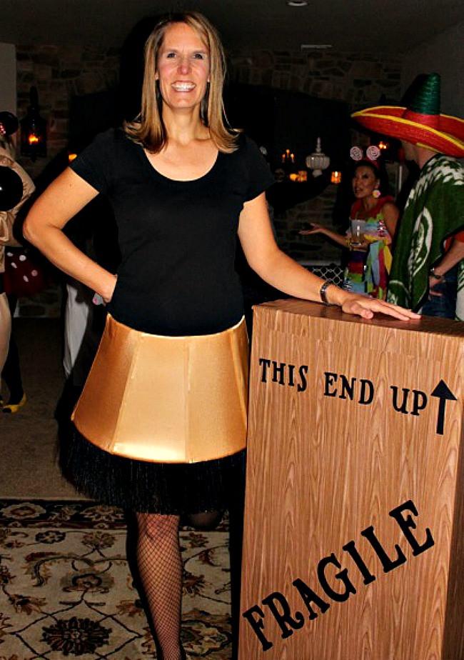 Lamp Shade Halloween Costume  lamp shade halloween costume Hallowen Costum Udaf