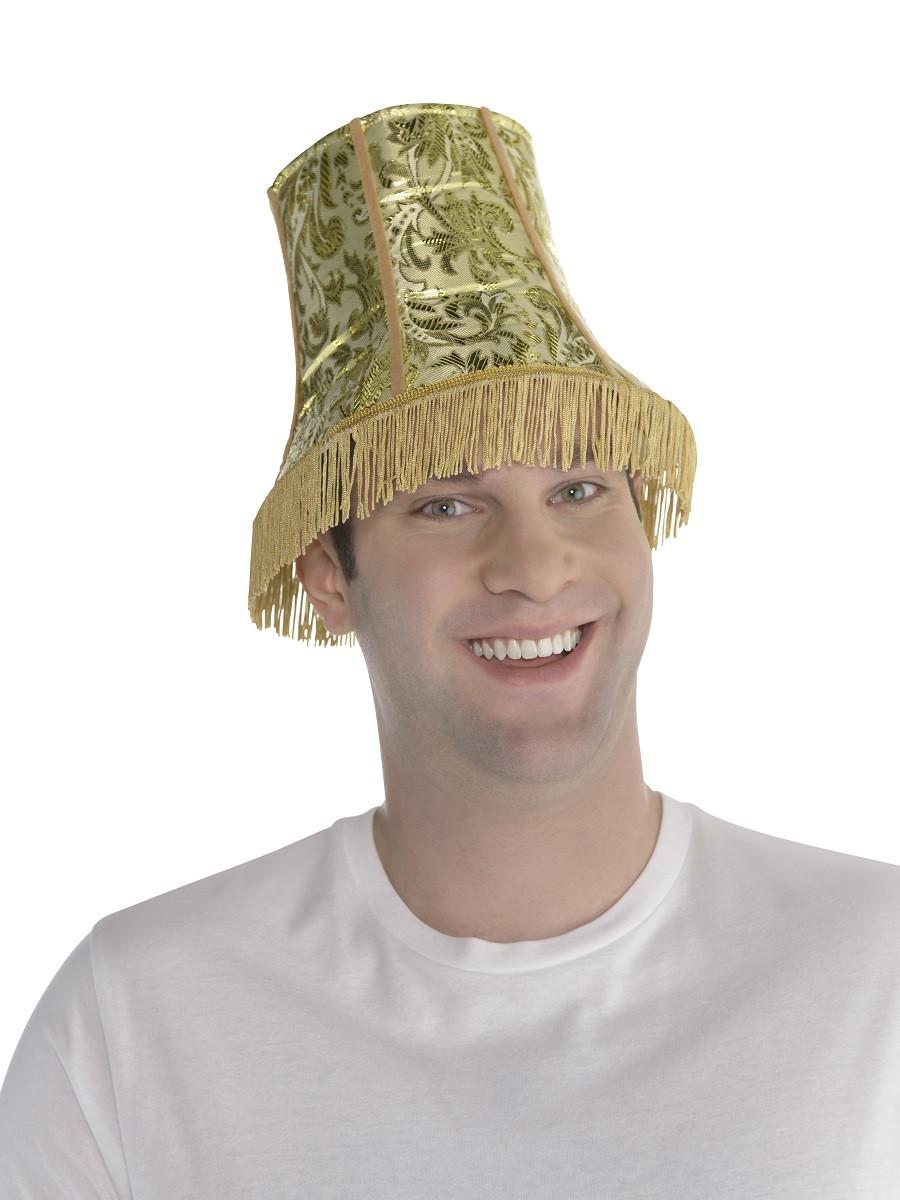 Lamp Shade Halloween Costume  Adult Lamp Shade Hat 55 Fancy Dress Ball