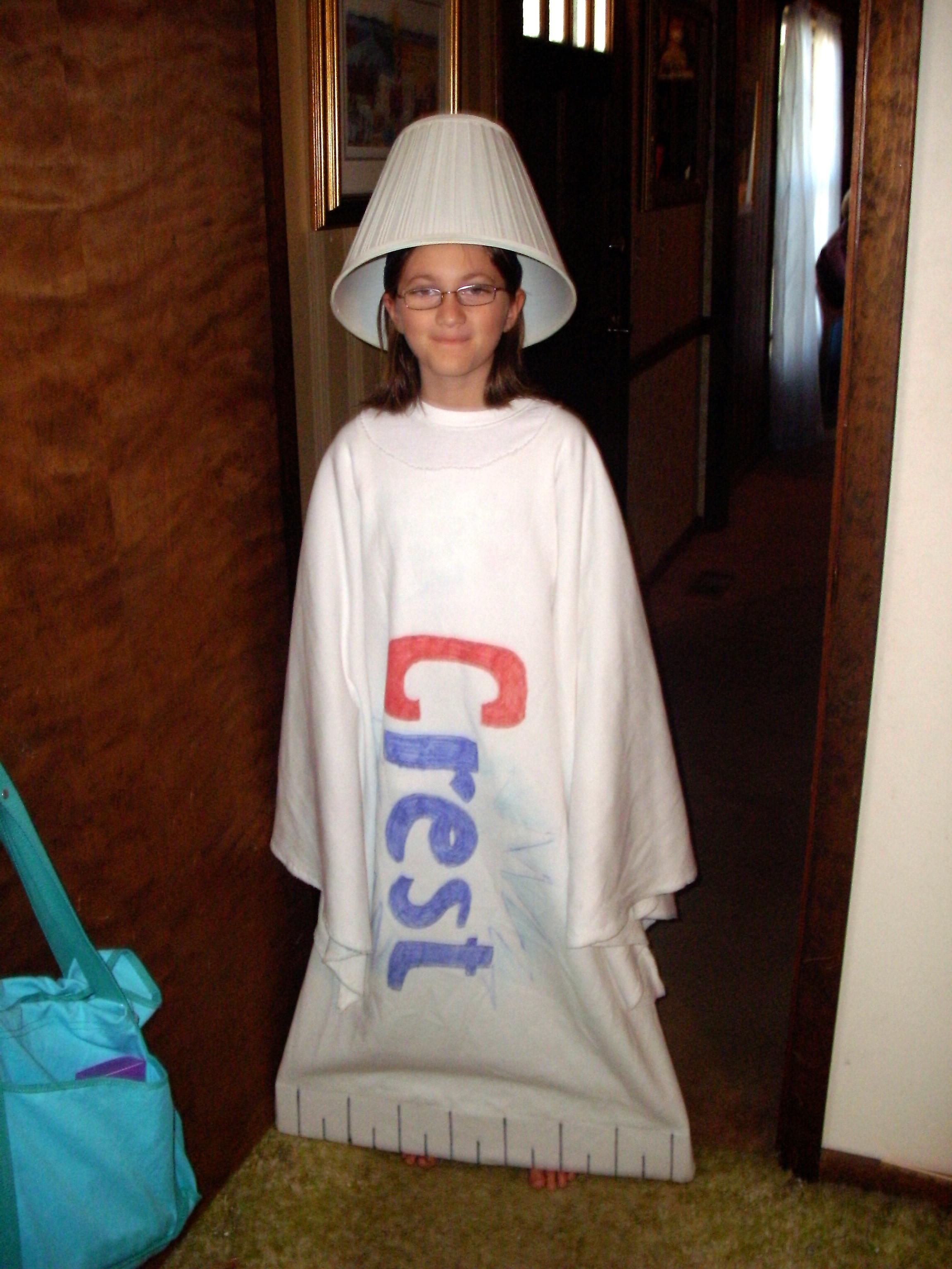 Lamp Shade Halloween Costume  More DIY Halloween Costumes