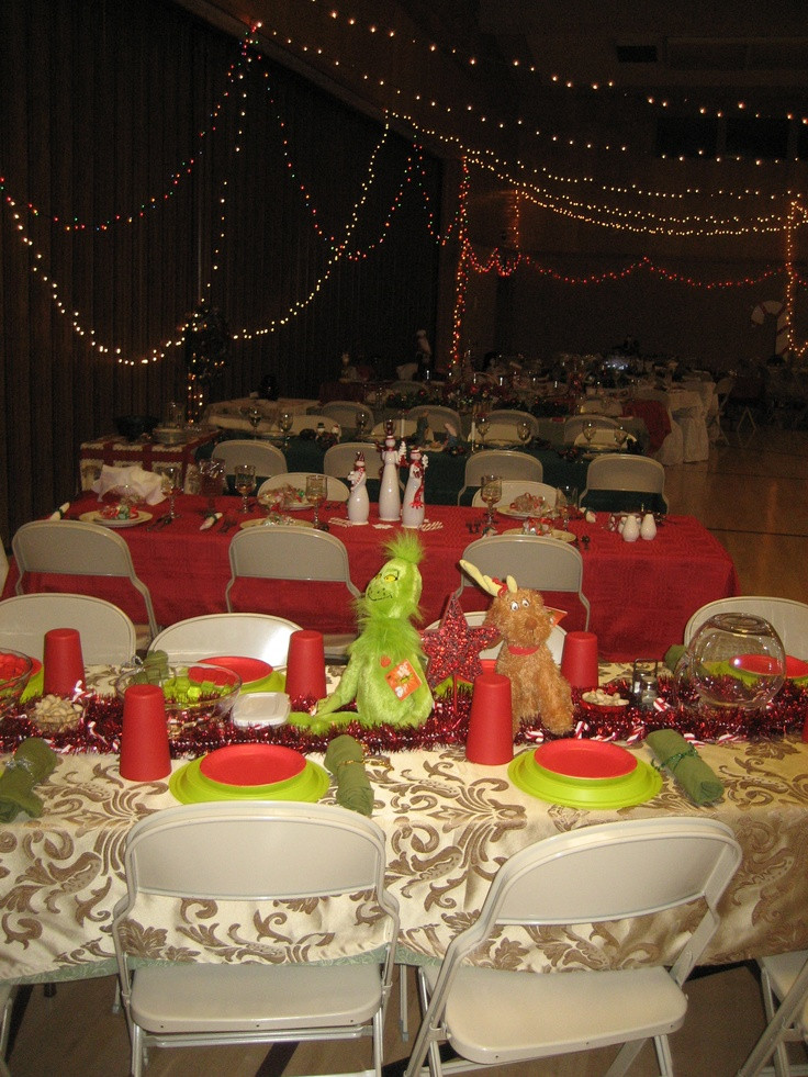 Lds Christmas Party Ideas  1000 images about Relief Society Christmas Dinner Ideas
