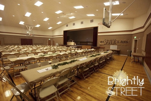 Lds Christmas Party Ideas  Return to Bethlehem Christmas Party Brightly Street