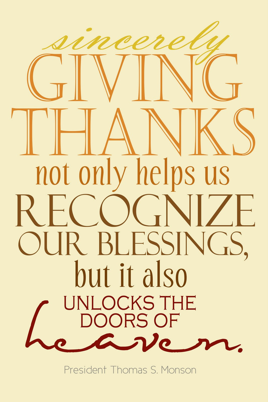 Lds Thanksgiving Quotes  Lds Thankful Quotes QuotesGram