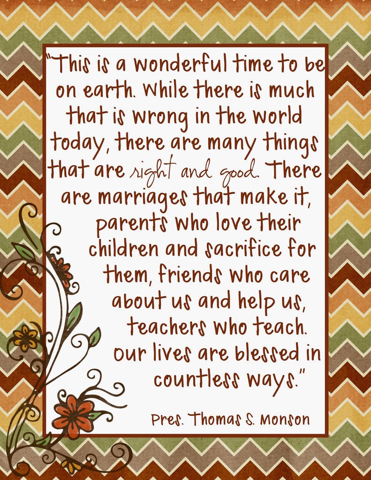 Lds Thanksgiving Quotes  Lds Quotes Gratitude QuotesGram