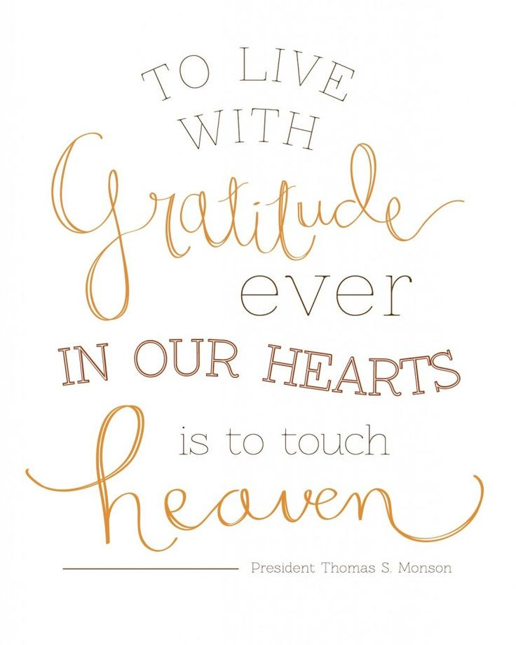 Lds Thanksgiving Quotes  best images about Attitude of Gratitude on Pinterest