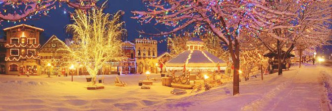 Leavenworth Christmas Lighting  Events Cascade Valley Wine Country