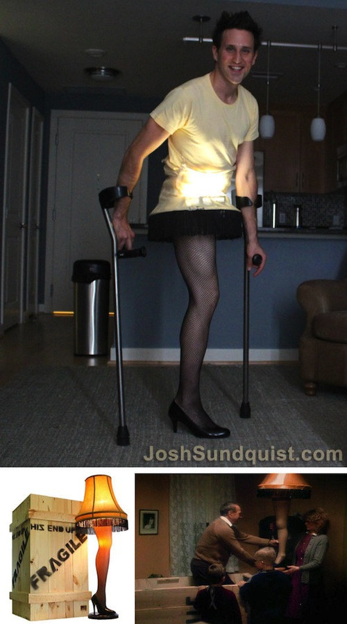 Leg Lamp Halloween Costume  Here Are The Best Athlete Halloween Costumes of 2012