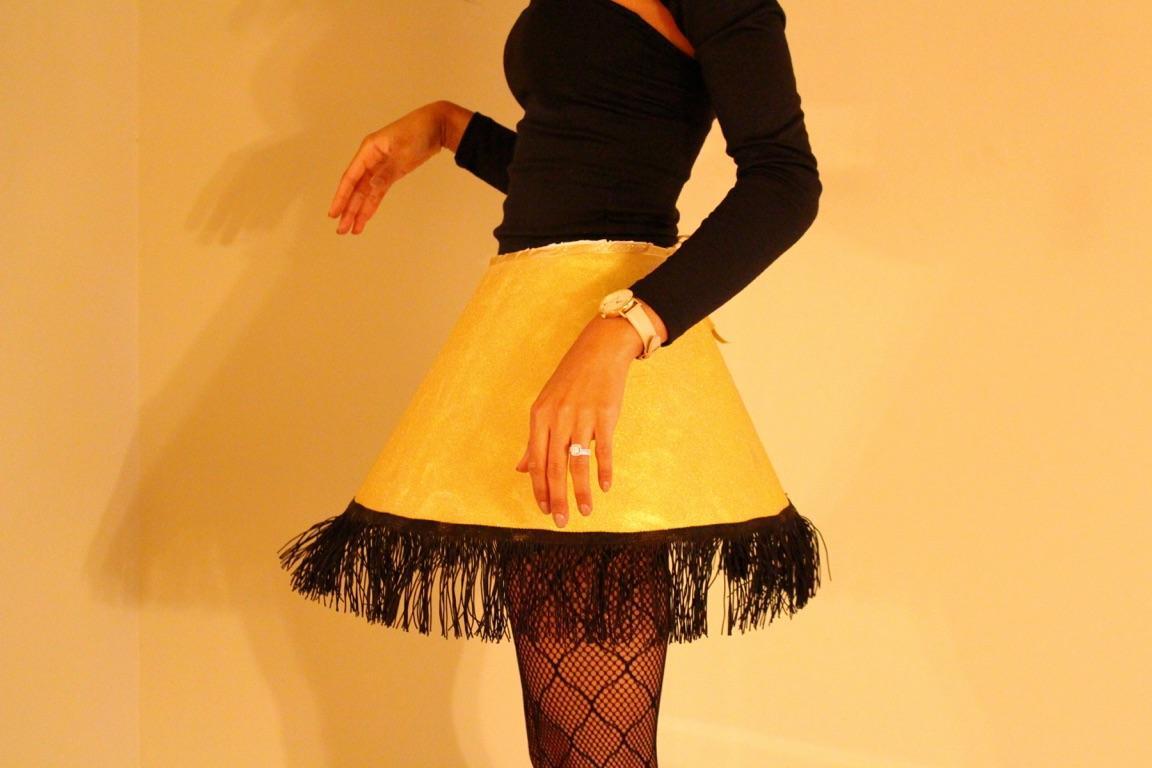 Leg Lamp Halloween Costume  Last minute DIY Halloween costume Leg Lamp