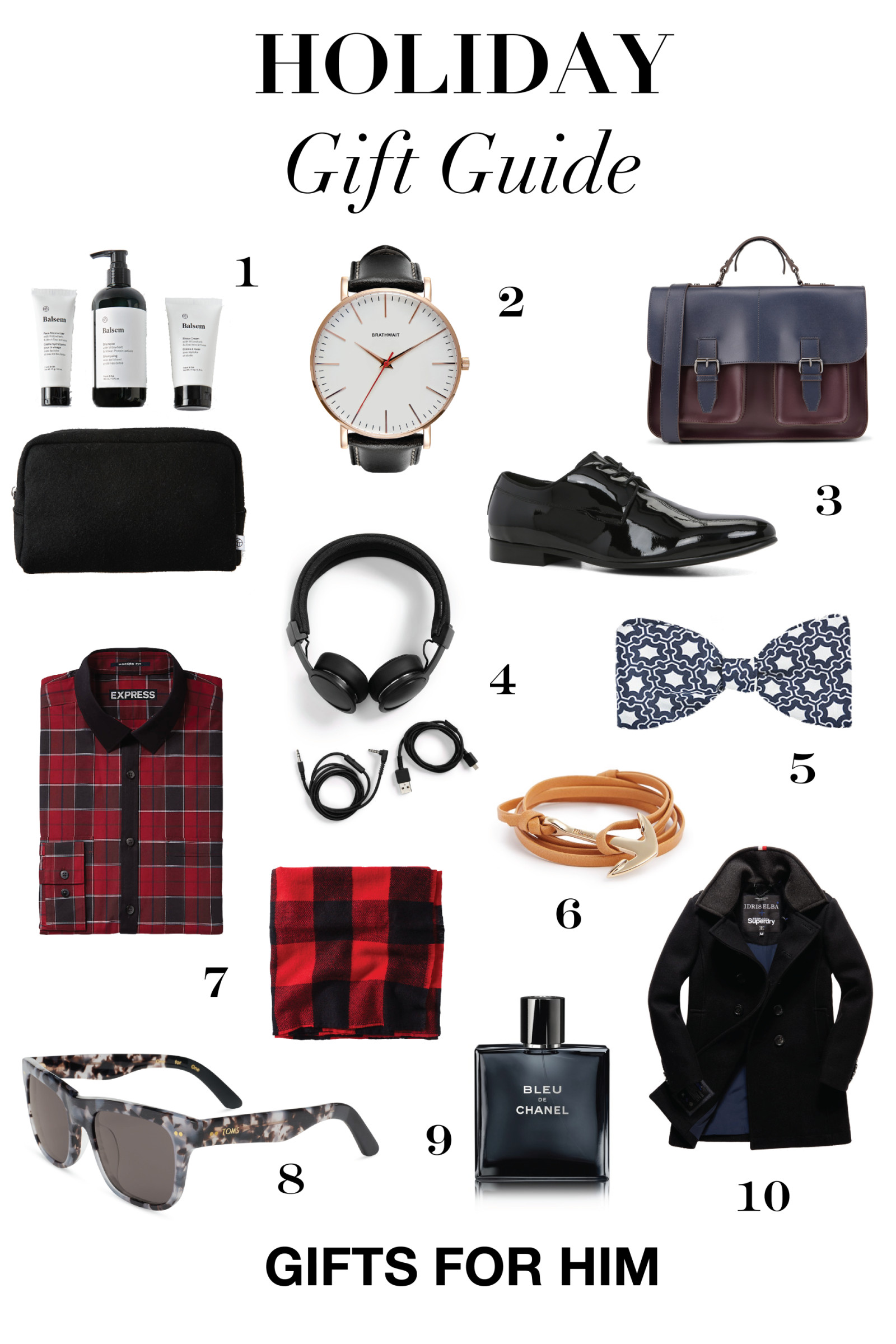 Mens Christmas Gift Ideas  Holiday Gifts for Men