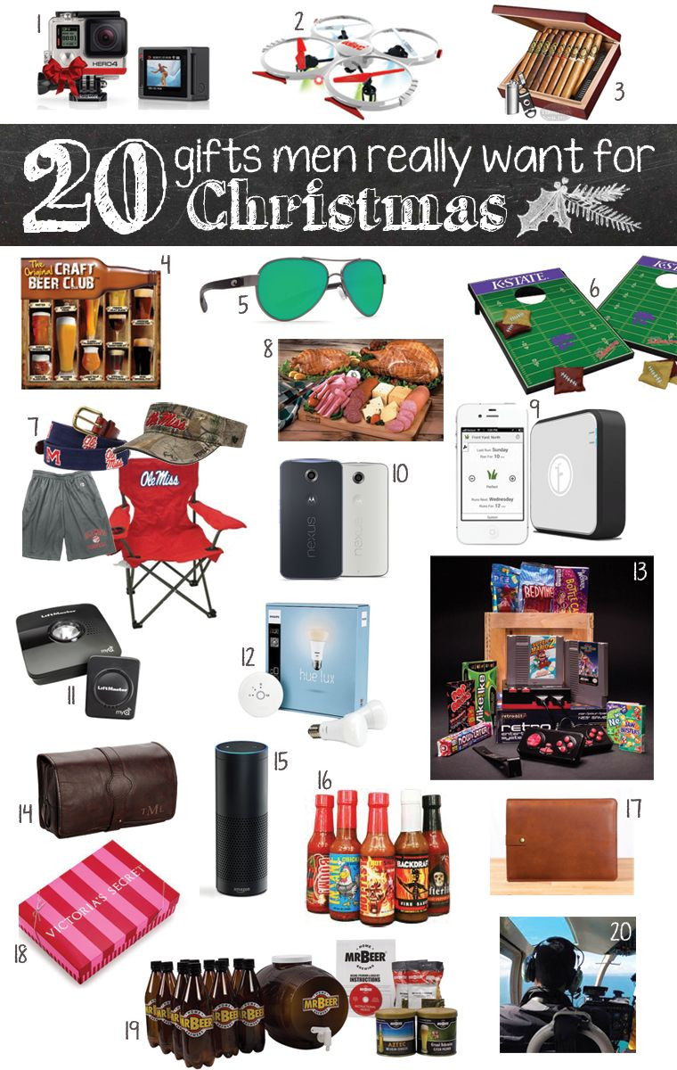 Mens Christmas Gift Ideas  20 Gifts Men Really Want for Christmas