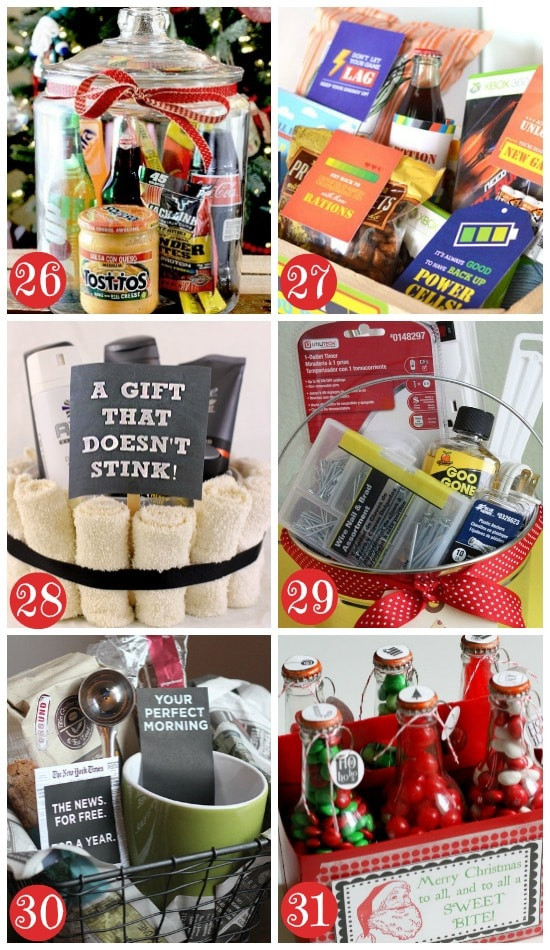 Mens Christmas Gift Ideas  50 Themed Christmas Basket Ideas The Dating Divas